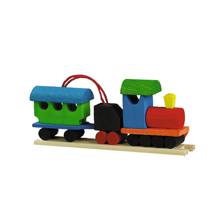 Toy Blocks Train