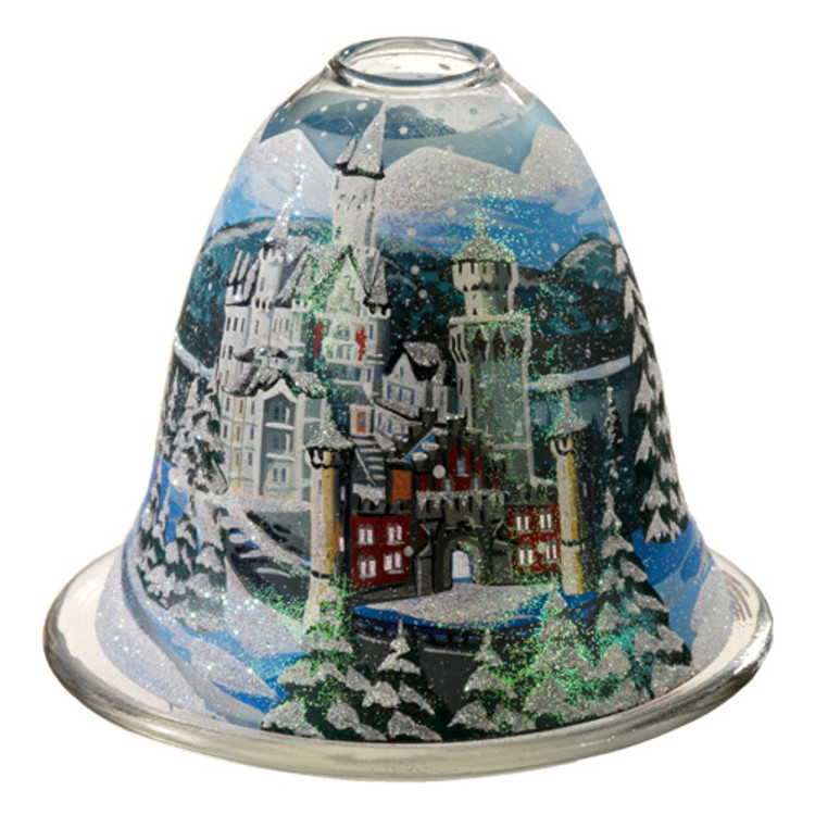 Castle Neuschwanstein Tealight Candleholder