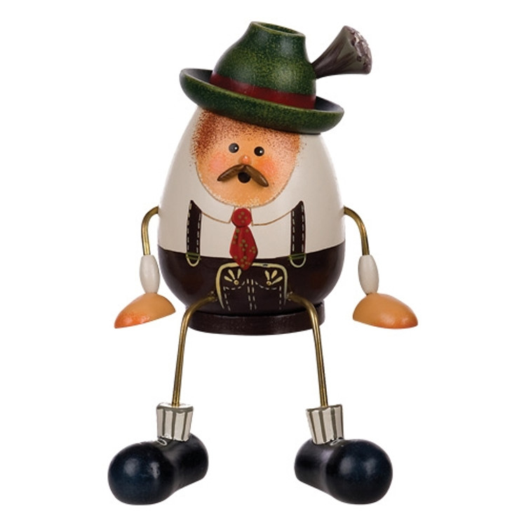 Small Sitting Bavarian Man