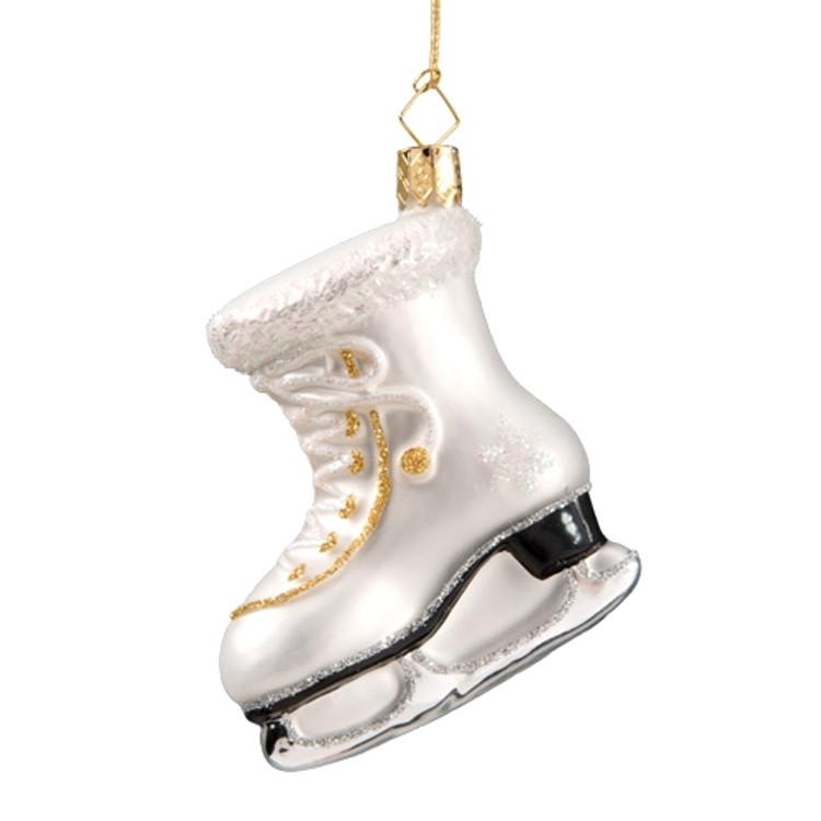 White Ice Skate