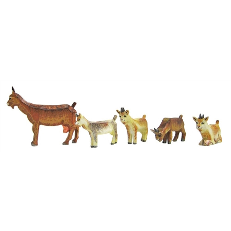Goats (set of 5)