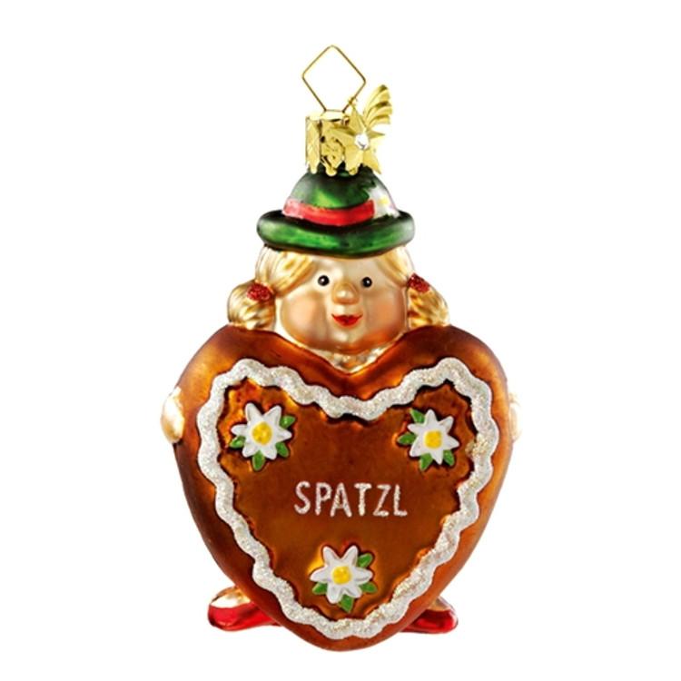 Bavarian Girl with Heart