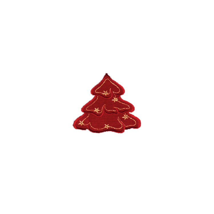 """Red Trees - 4-1/2"""" x 4"""""""