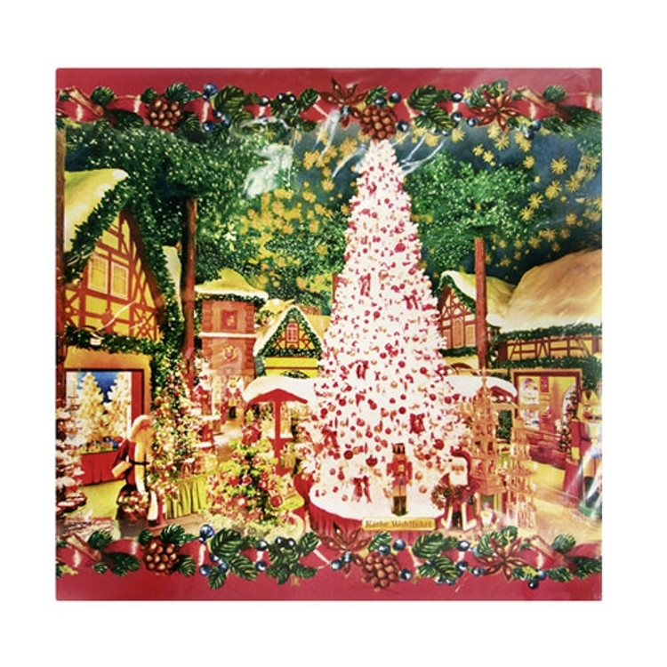 Rothenburg Christmas Village Napkins