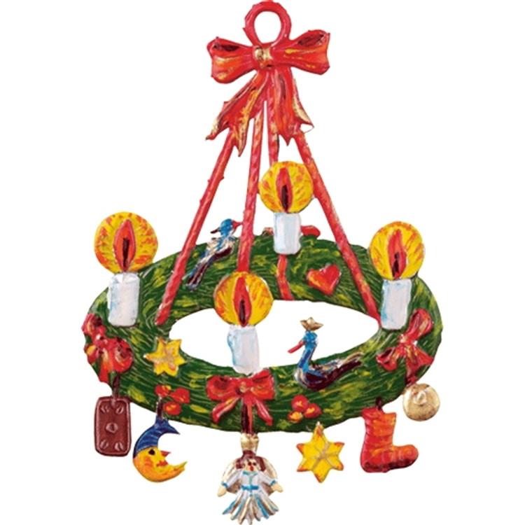 Pewter Advent Wreath