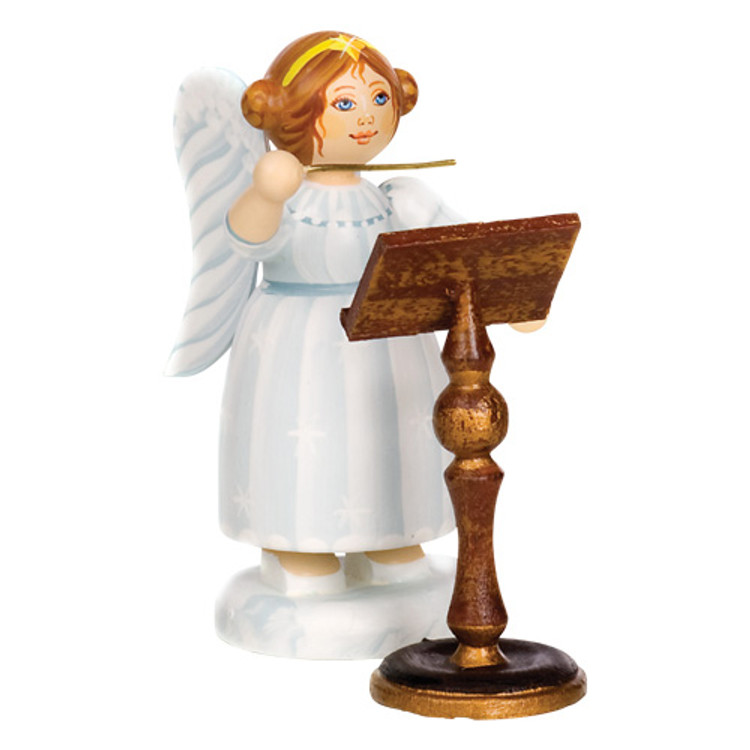 White Dress Angel Conductor with Music Stand