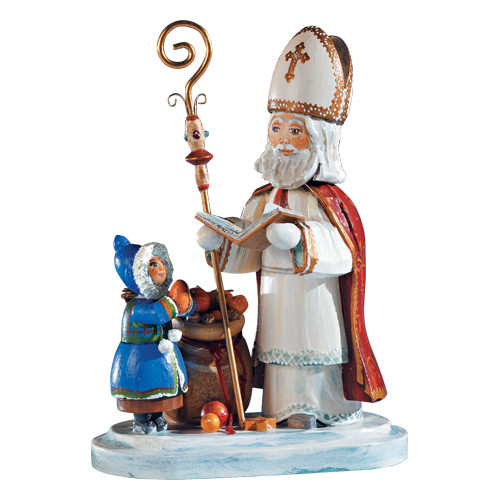 Saint nicholas limited edition figurine