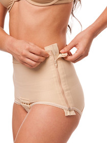 Isavela Stage 1 Low Waisted Abdominal Girdle - Brief Length