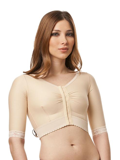 Compression Vest - Short Waisted - Short Sleeve