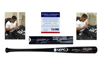 Jose Abreu Signed Rawlings Bat - PSA/DNA - Chicago White Sox Autographed