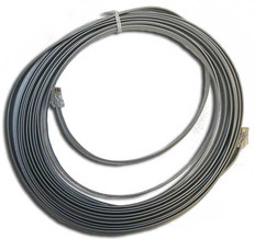 Cable  Flat Gray Real-time 25 Feet