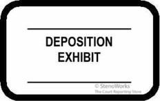 DEPOSITION EXHIBIT 2 Lines Labels