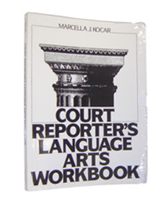 Court Reporter's Language Arts Workbook White