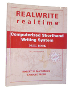 REALWRITE RT Computerized Shorthand Writing System Drill Book 2nd Edition - Good Condition