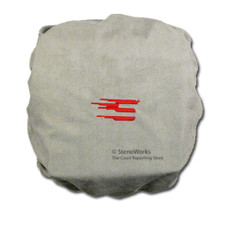 Gray Microfiber Dust Cover