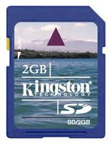 Kingston 2 GIG SD Card FREE US SHIPPING!