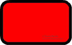Blank Exhibit Labels Red 492 per pack