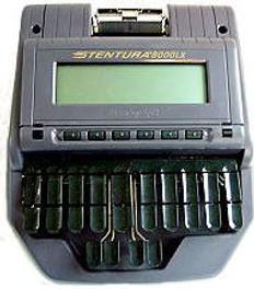 Stentura 8000LX Refurbished 2-yr-Warranty Royal Purple Paper or Paperless