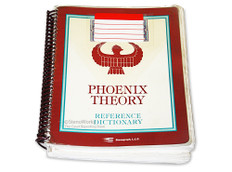 Phoenix Theory Reference Dictionary First Printing in Acceptable Condition