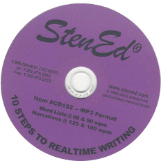 StenEd 10 Steps to Realtime Writing CD Only
