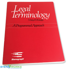 Legal Terminology: A programmed approach by Mary H. Knapp - Good Condition