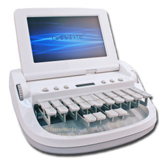 Stenograph Diamante in Matte White