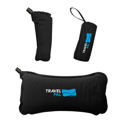 Travel Pal Auto-Inflating Memory Foam Back Pillow