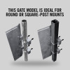 "Self-Closing Gate for Square or Round Post Mount 23-29"" (Galvanized)"