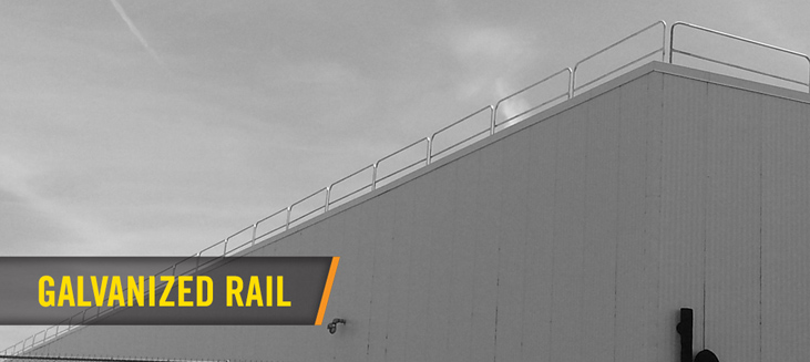 Safety Rail Roof Railing Portable Guardrail Safety