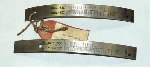 STRIP, range scale (steel)