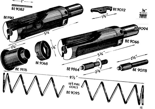 STEN Bolt, Extractor Pin REPRODUCTION