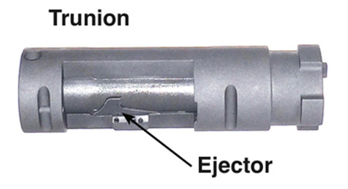 Slide Lock Trunion: Trunion Body with Ejector