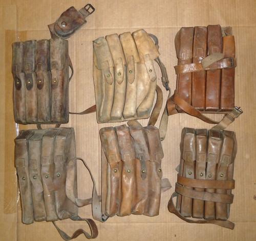 Yugoslavian M49/M56 Pouch Lot - 05 (MID-LOW GRADE)