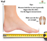 Measuring Little Feet!