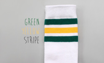 Kokacharm Meteor Green & Gold Sports Socks