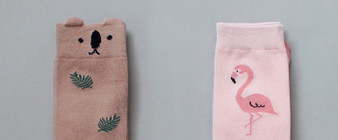 Kokacharm Jungle Knee High Socks