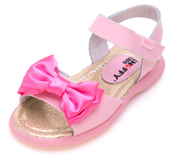 """Snoffy """"Mariah"""" Pink Leather Sandals"""