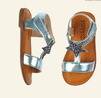 Buddy Aron Star Blue Sandals