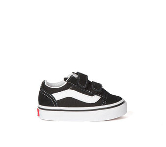 Vans Old Skool V Black Toddler Shoes