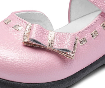 "Snoffy ""Brooke"" Pink Leather Shoes"