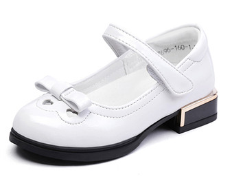 "Snoffy ""Classique"" White Leather Shoes"