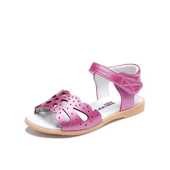 "Snoffy ""Eden"" Pink Leather Sandals"