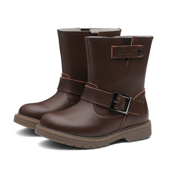 "Snoffy ""Wynter"" Brown Leather Boots"