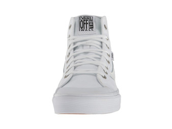 Vans Womens Black Balls Hi SF True White Hi Tops US10 only