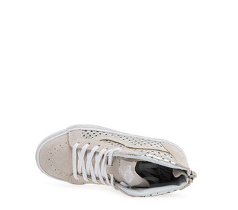 Vans Girls SK-8 Metallic Heart Silver  Kids Shoes