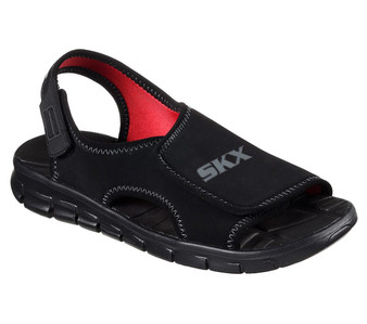 Skechers Synergize Fast Stream black sandals