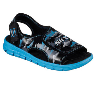 Skechers Synergize Quick Current black sandals