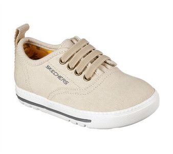 Skechers Lil Lad Taxen Khaki Boys Shoes