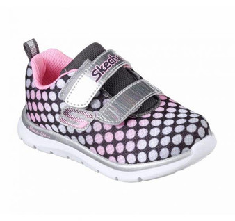 Skechers Skech Lite Lil Dots pink girls runners