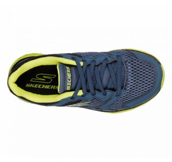 SKechers Go Run 400 ZODOX Blue Boys Runners
